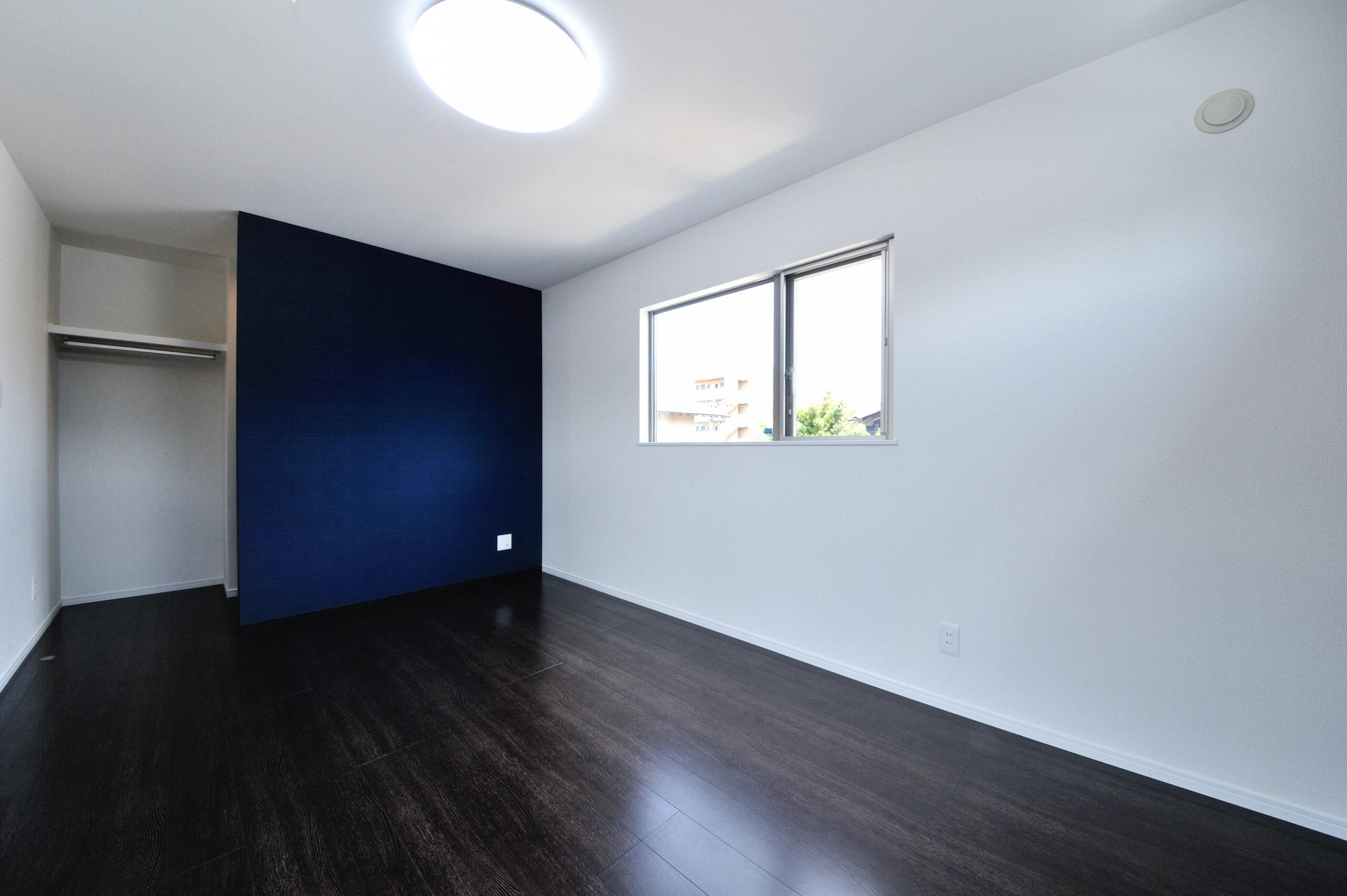 シンプルモダンなお家 寝室
