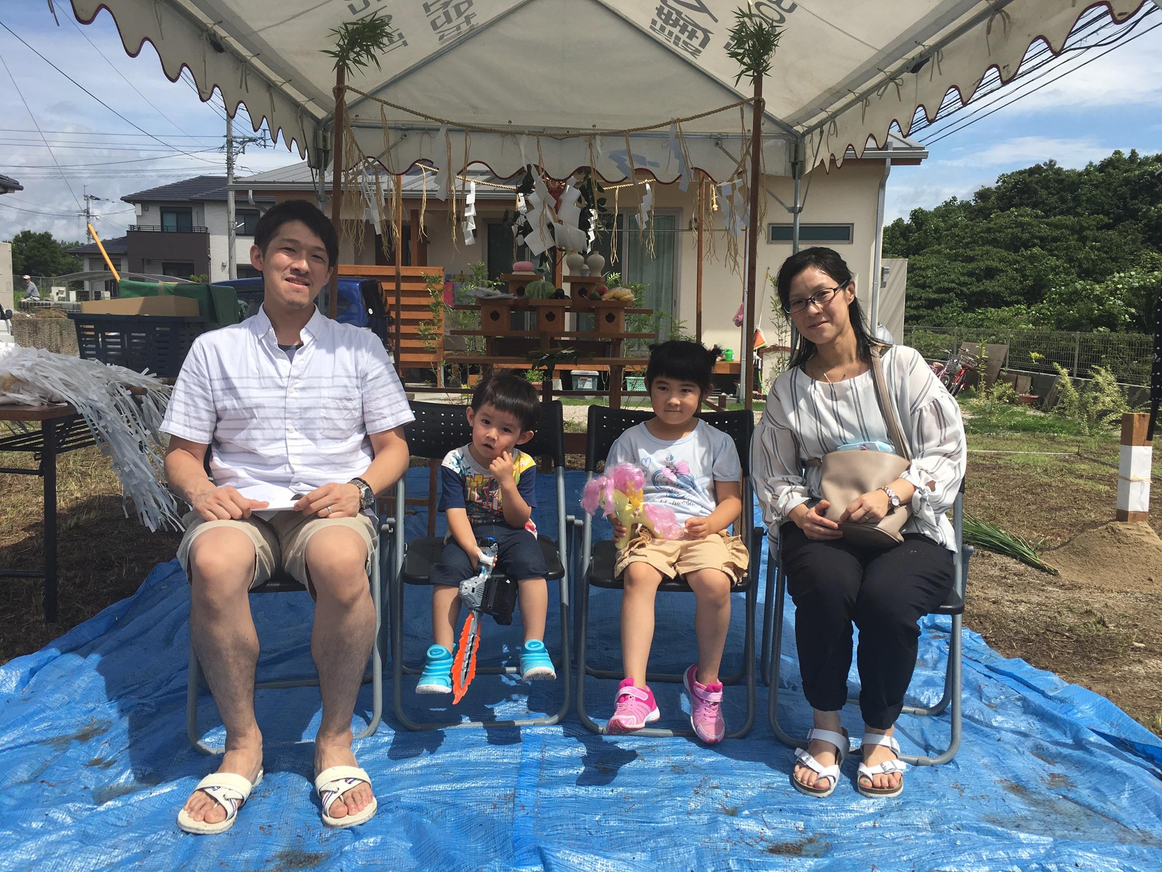 【桂川町】N様邸地鎮祭