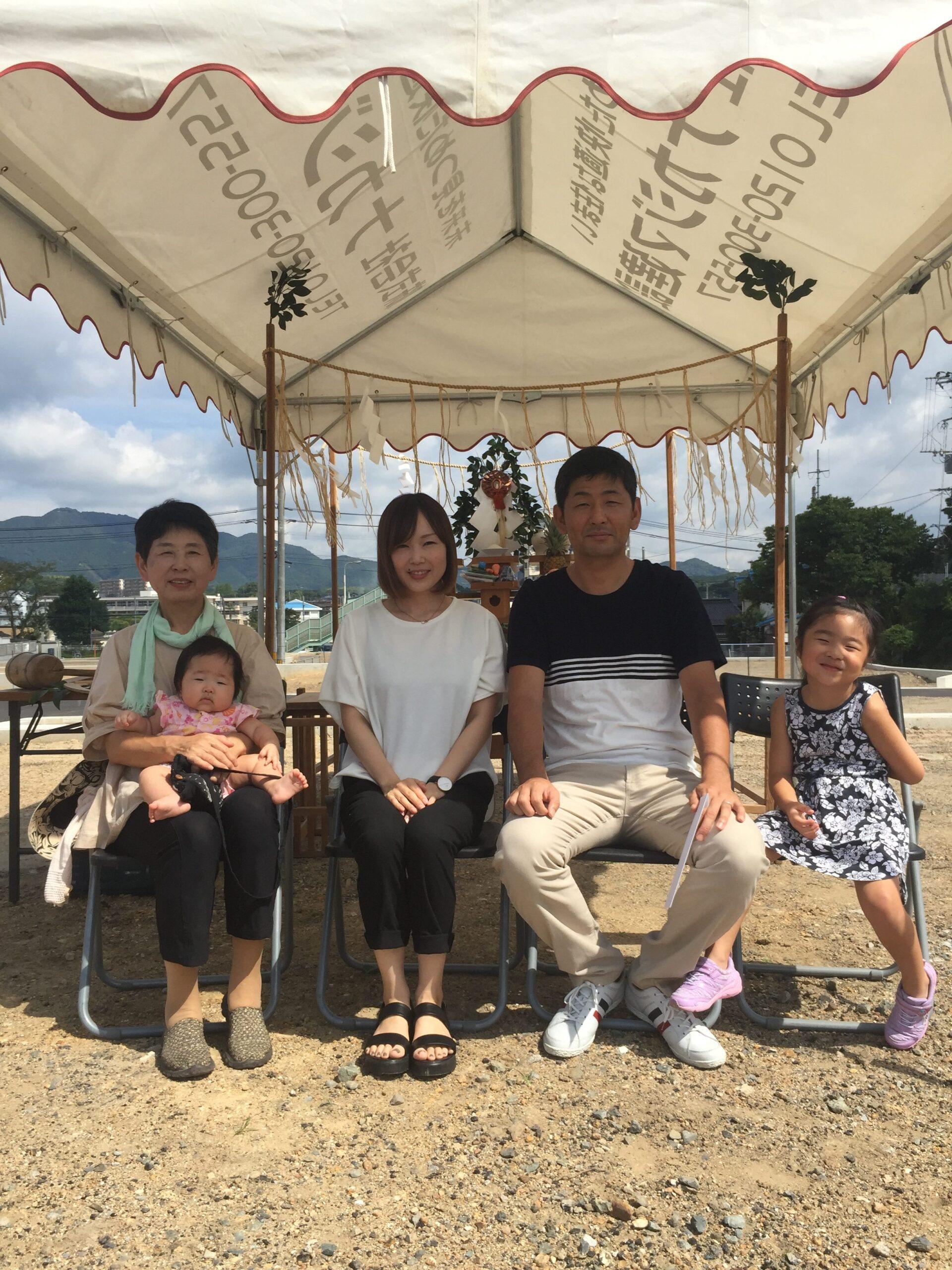 【飯塚市】H様邸地鎮祭