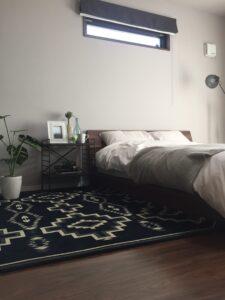 直方市に新モデルハウス 寝室