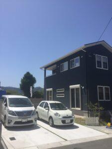 飯塚市伊岐須に新モデルハウスオープン 外観