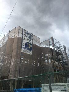 飯塚市Y様邸上棟式 外観
