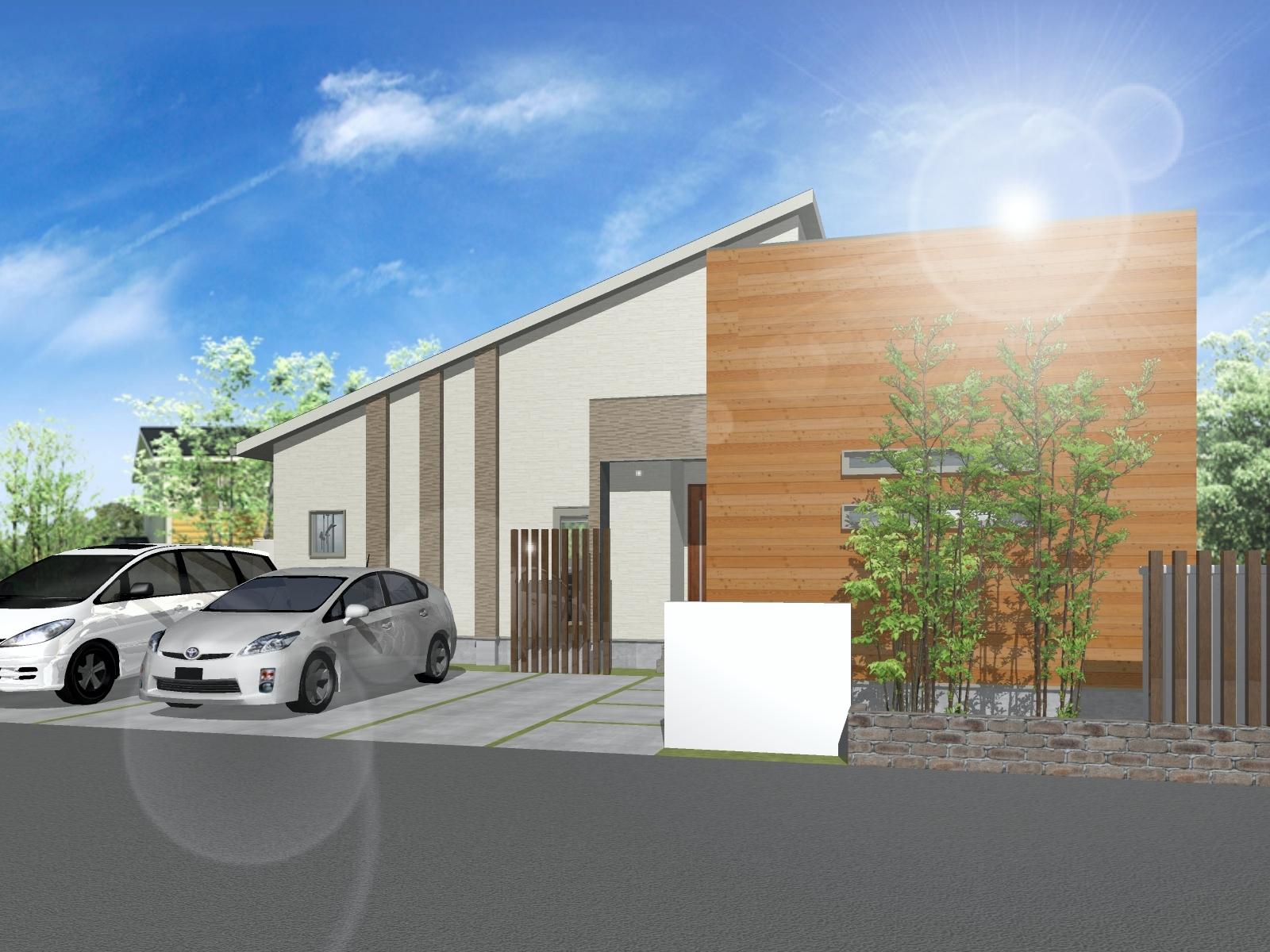 平屋モデルハウス建設のお知らせです!
