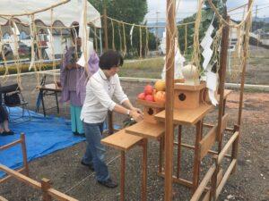 飯塚市 K様邸 地鎮祭 イベント3