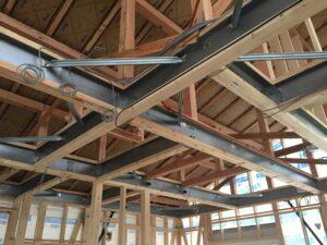平屋モデルハウス工事 屋内鉄筋