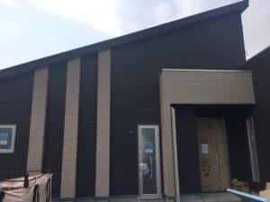 平屋モデルハウス工事進捗 玄関