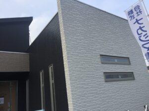 平屋モデルハウス工事進捗 玄関②