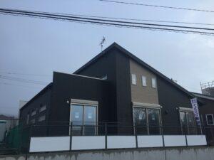 平屋モデルハウス工事進捗 外観