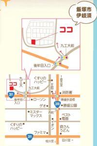平屋モデルハウス 案内図
