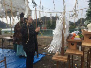 U様邸地鎮祭を執り行いました 儀式3