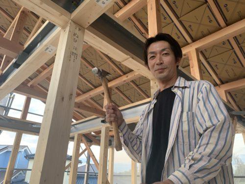 飯塚市T様邸上棟 ご主人さま