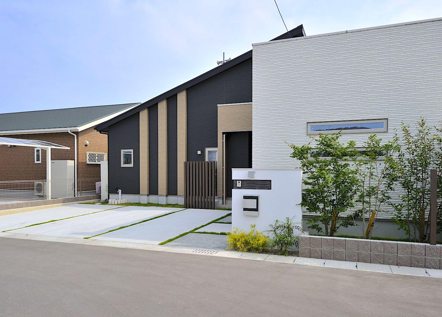 伊岐須の平屋モデルハウス 外観