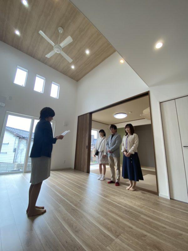飯塚市H様邸お引渡し式の祝辞