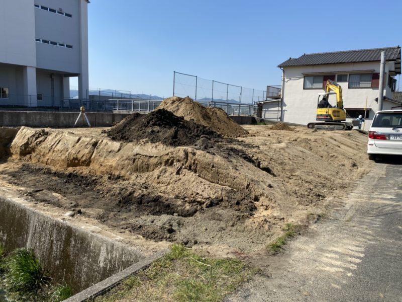 飯塚市平恒新規分譲地現地写真
