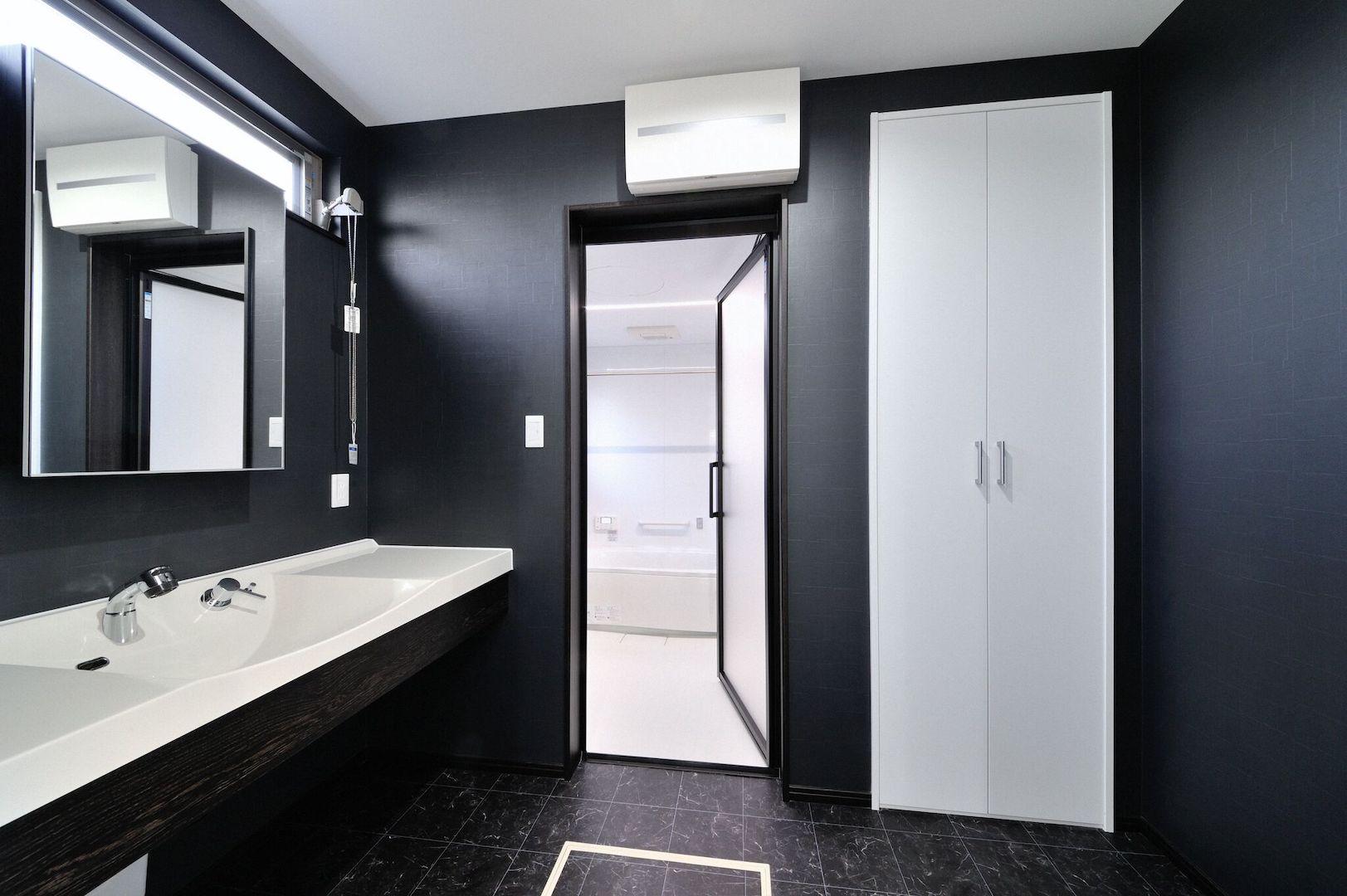 ホテルのような洗面室
