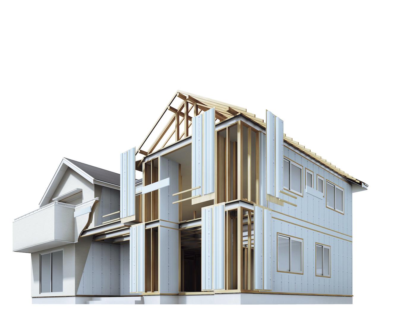 【ナカジマ建設が提供する「テクノあったかパネル」の家】