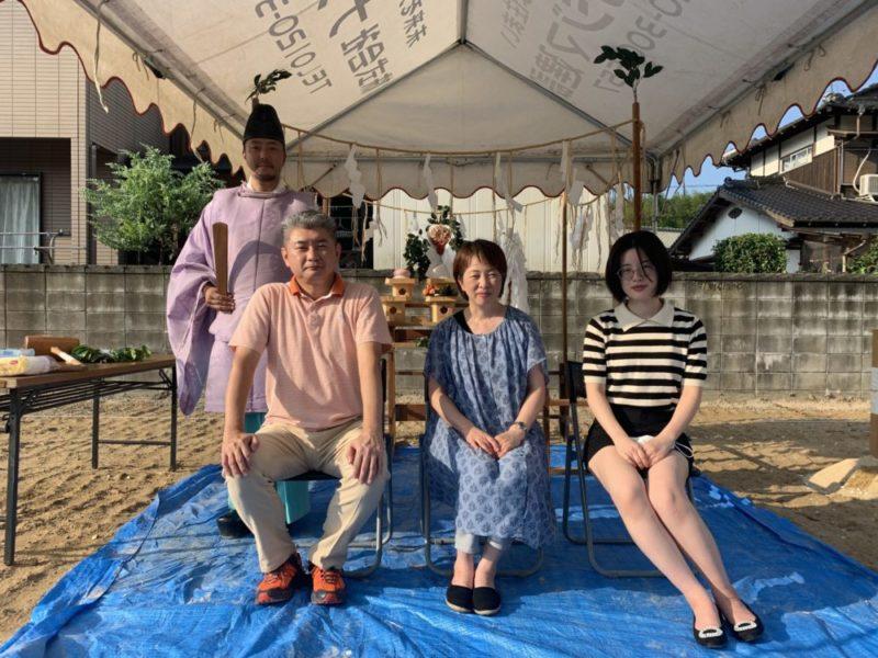 【飯塚市】T様邸地鎮祭(2020年8月)