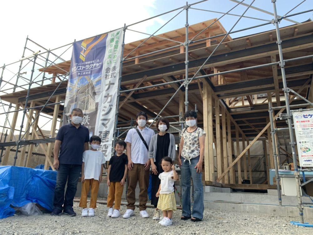 【飯塚市】S様邸上棟式(2020年8月)