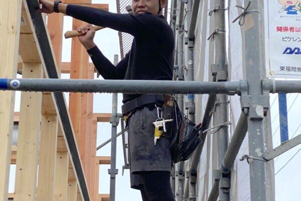 ナカジマ建設の現場のスタッフを紹介! 園田さん