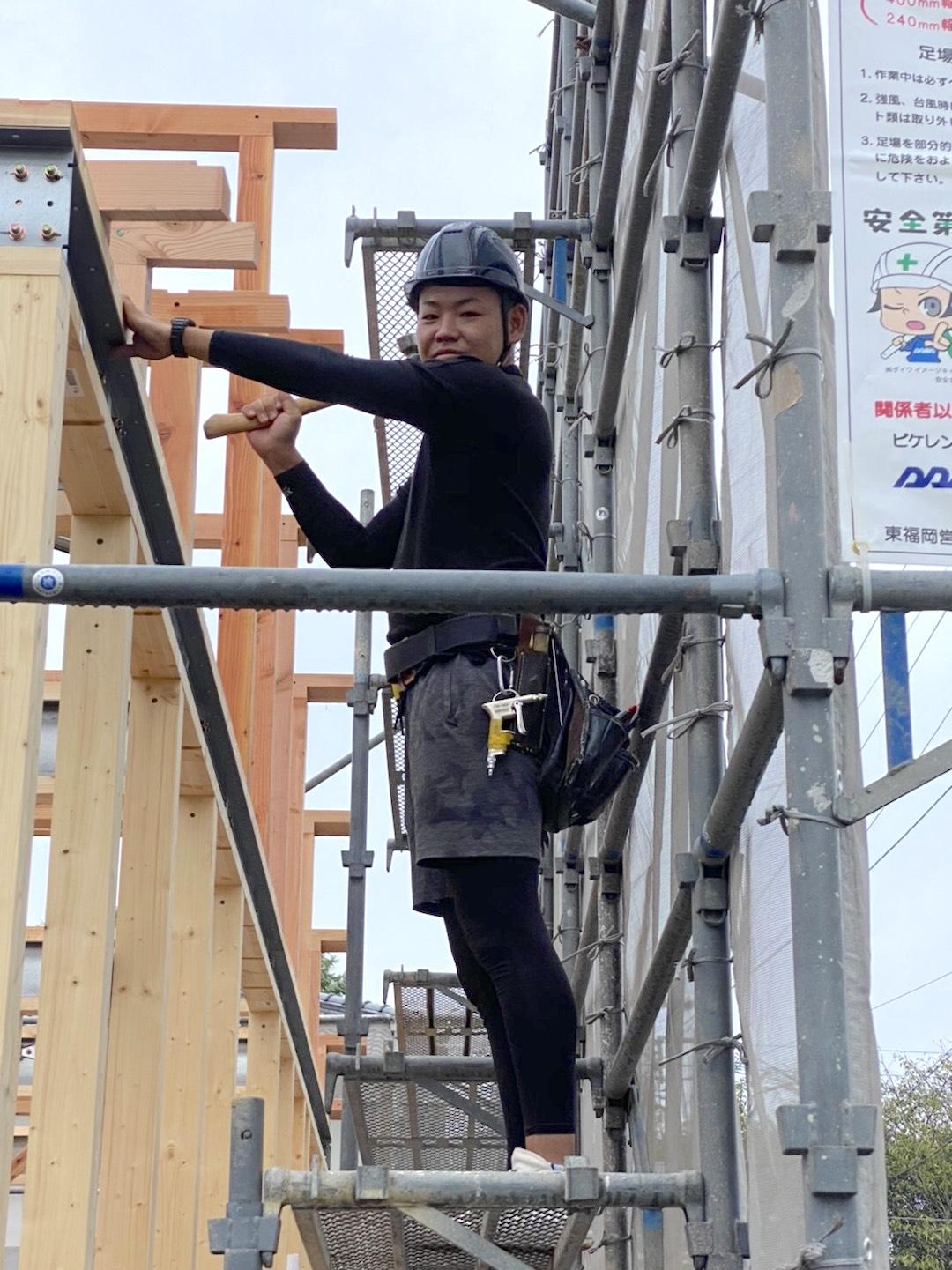 【ナカジマ建設の現場のスタッフを紹介!~園田建設の園田です!~】