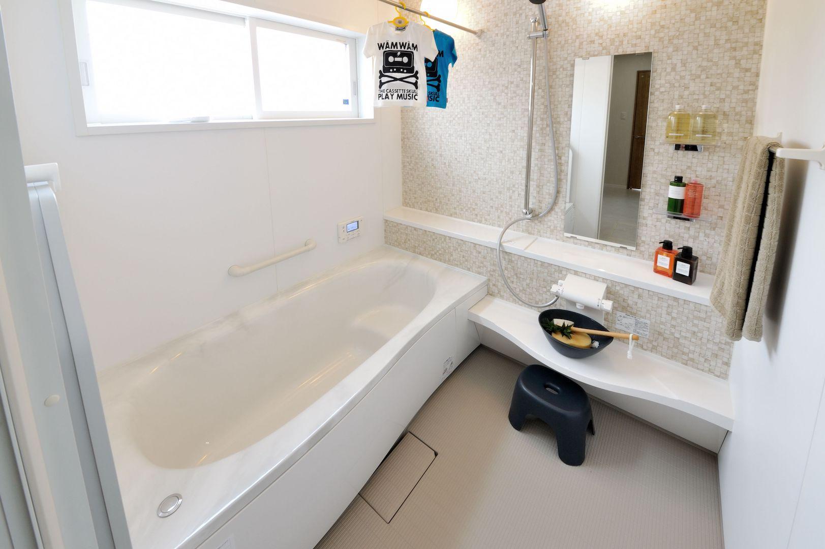 ナカジマ建設のリフォーム提案【その①】 広々したお風呂