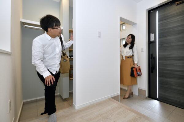 新モデルハウスの見どころはココ!~Part1 玄関