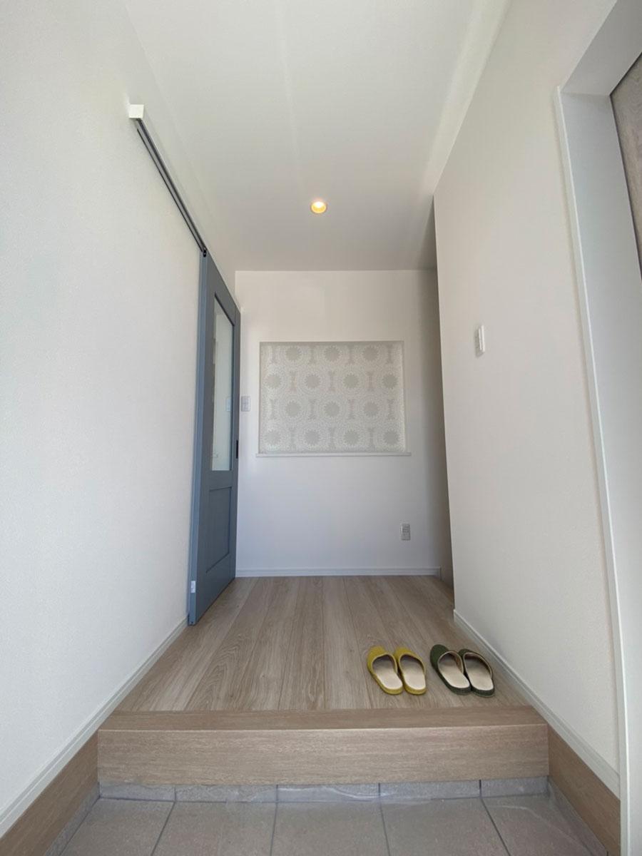 平恒モデルハウス【平屋】玄関