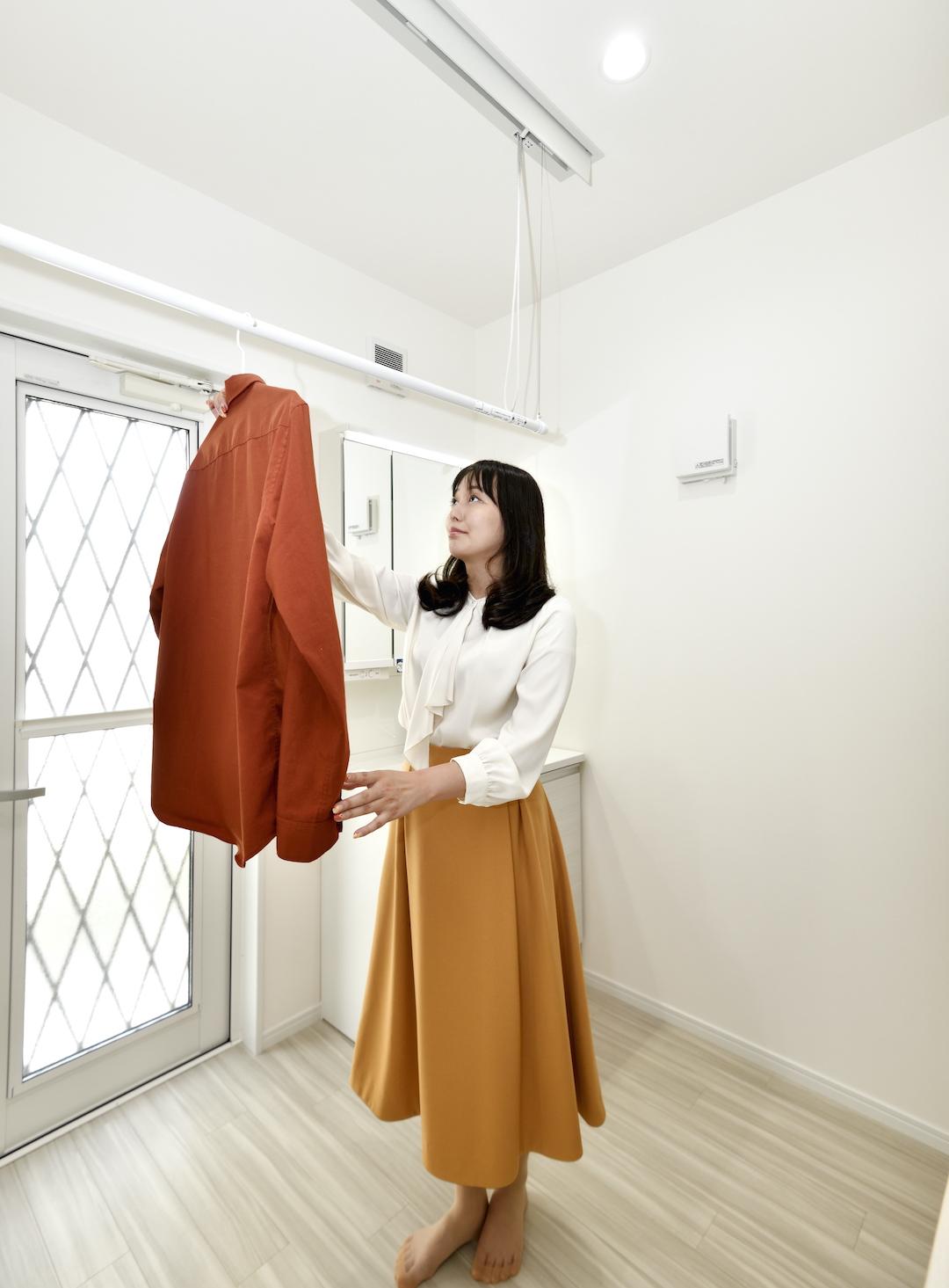 【新モデルハウスの見どころはココ!~Part3.お洗濯はココで完結!ランドリールーム~】