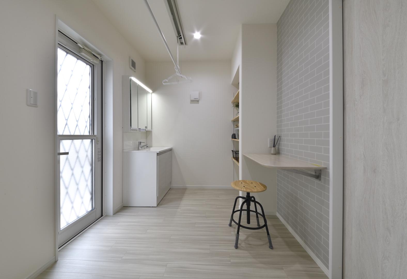 スタッフが語る♪平恒モデルハウスのおすすめポイント! おしゃれな洗面室