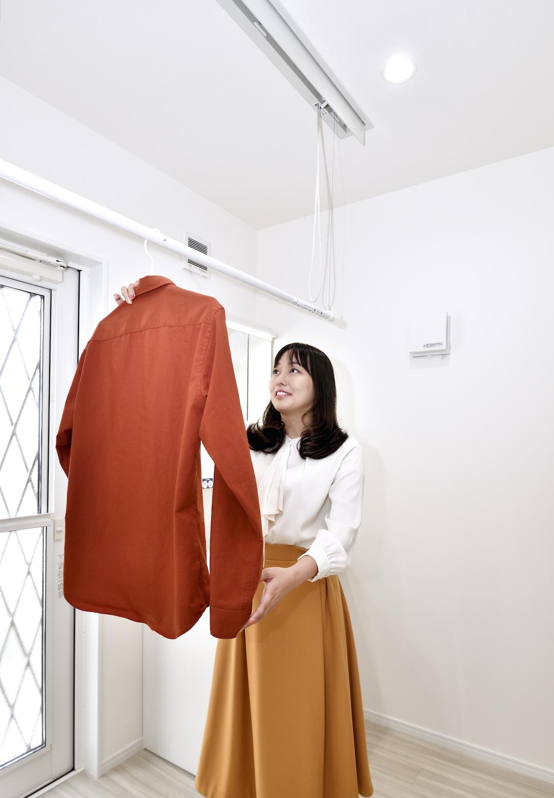 【いつでも気軽にお洗濯♪ランドリースペースにおすすめの設備!】 スペースの活用