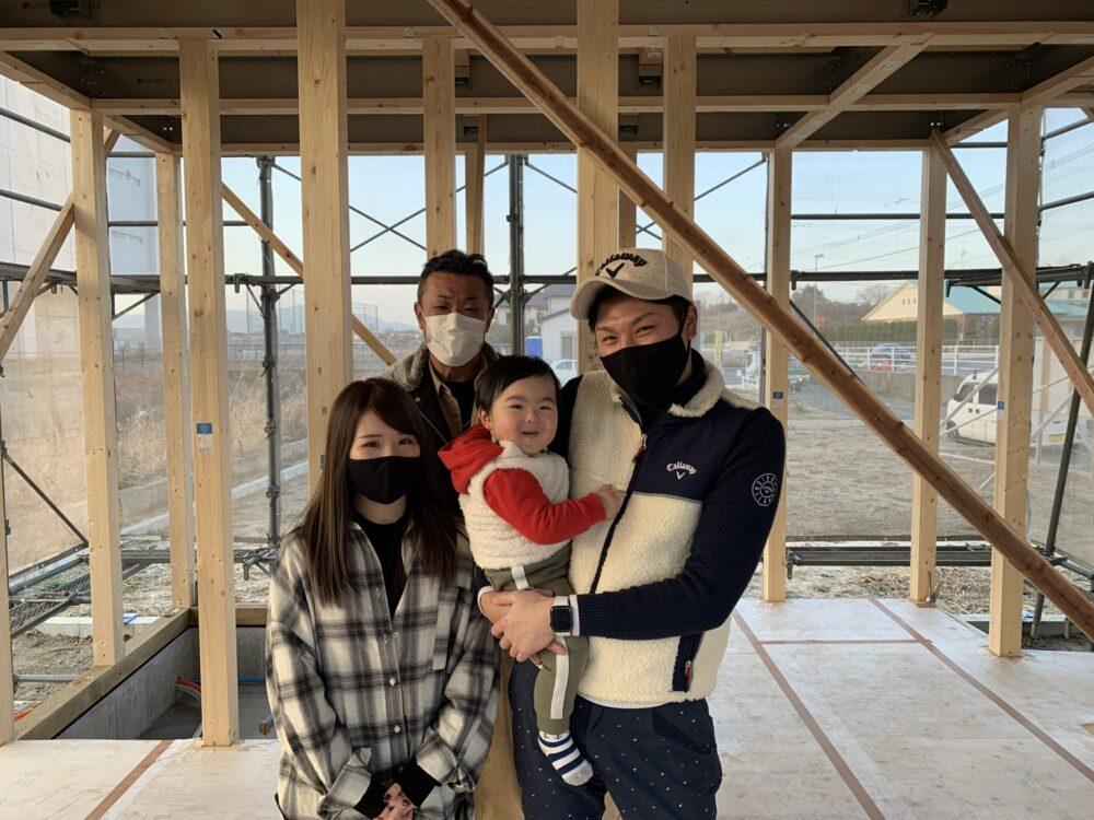 【飯塚市】T様邸にて上棟