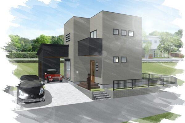 平恒新モデルハウスを建てることが決まりました! 完成パース