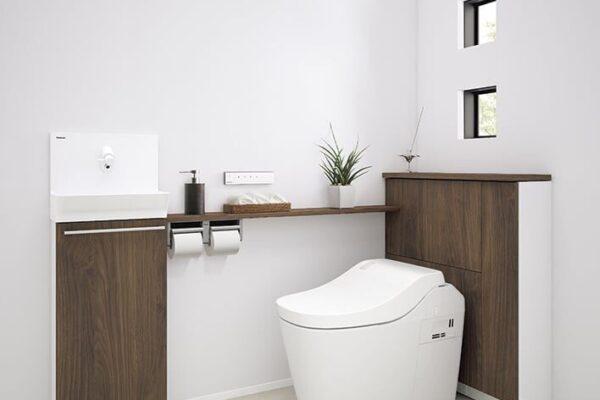 お手入れラクラクのトイレ「アラウーノ」 設置写真